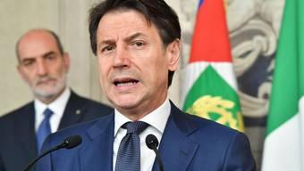 """Der designierte Ministerpräsident Giuseppe Conte will """"eine neue Menschlichkeit"""" in die Politik des Landes tragen."""