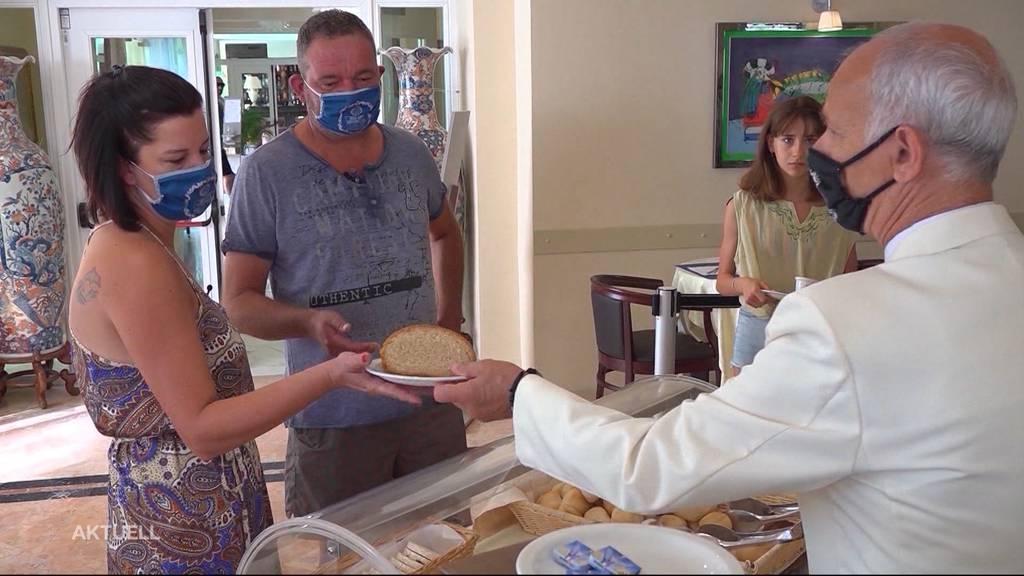 Maskenpflicht für Gastro-Personal und beim Einkaufen im Kanton Basel-Stadt