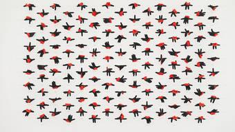 """Das Werk """"Postures"""" (2017) ist Teil der Ausstellung """"Carmen Perrin - Reprends ton souffle"""" im Kunsthaus Grenchen. Die Schau dauert vom 30. Juni bis 22. September 2019."""