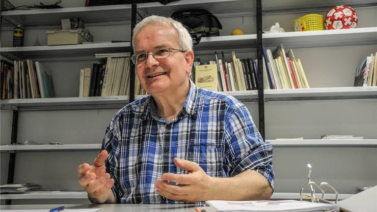Dani Burg findet gerne individuelle, neue Lösungen – in seinem neuen Buch will er genau das weitergeben. Toni Widmer