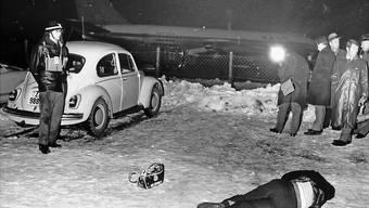 Attentat auf El-Al-Maschine in Zürich am 18. Februar 1969
