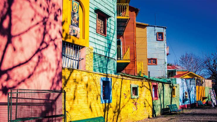 Eure Reise startet in Buenos Aires.