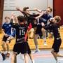 Horgen/Wädenswil macht es dem Gastgeber nicht leicht, doch letztlich gewinnen die Handball-Junioren der U17 Inter der HSG Aargau Ost das Duell mit 27:18.