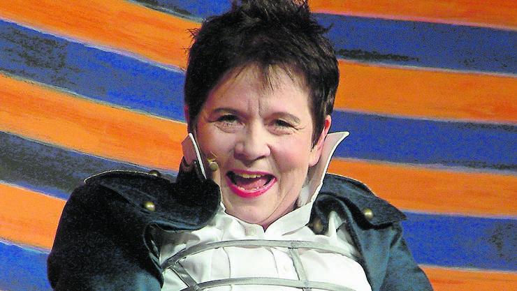 Bea von Malchus gastiert in Luttingen.