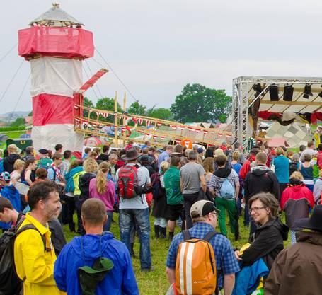 Rund 1000 Gäste besuchten am Sonntag das Kantonallager der Pfadi Kanton Solothurn in Alterswil FR.