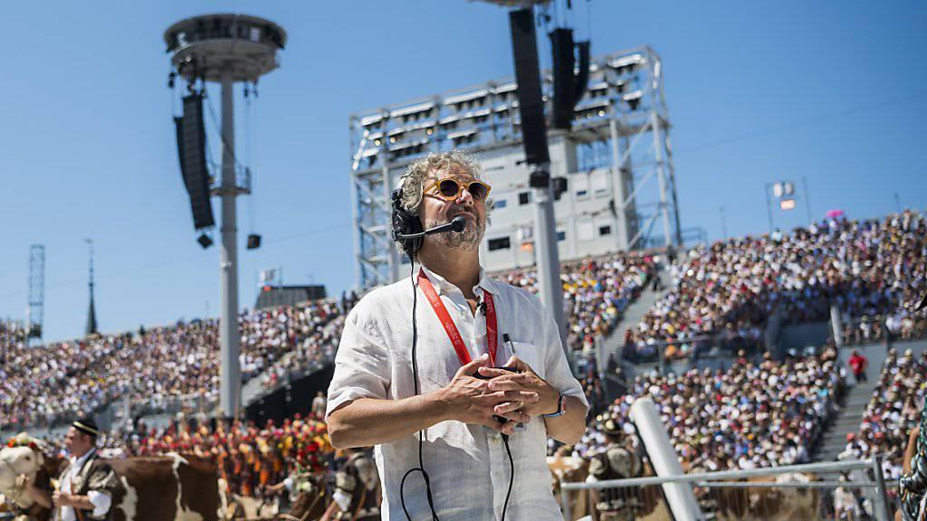 Der Tessiner Regisseur Daniele Finzi Pasca (im Bild) hat mit den von ihm konzipierten Freilichtvorführungen offensichtlich den Publikumsgeschmack getroffen.