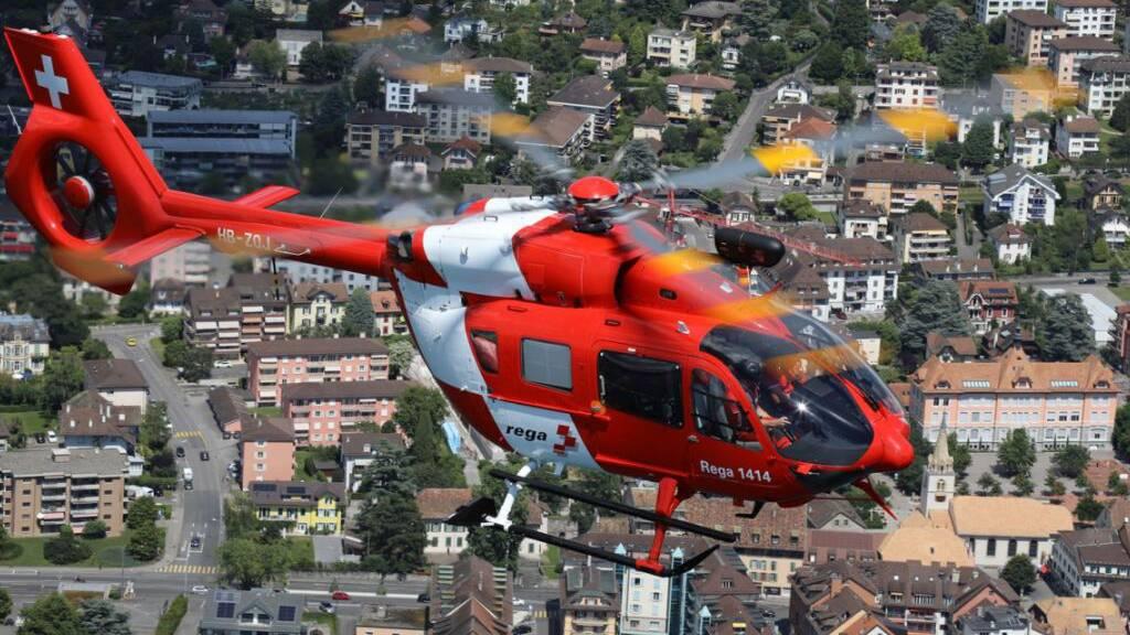 Die Helikopter-Crews der Rega waren im vergangenen Jahr so oft ein Einsatz wie noch nie.