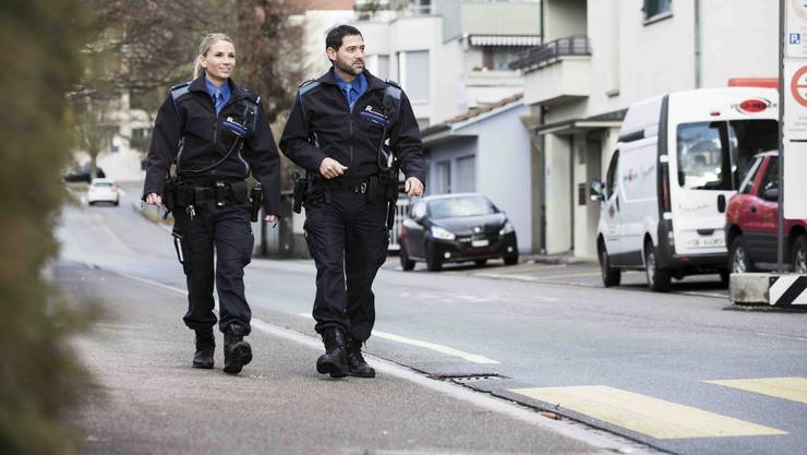 Patrouille im Quartier (Symbolbild)
