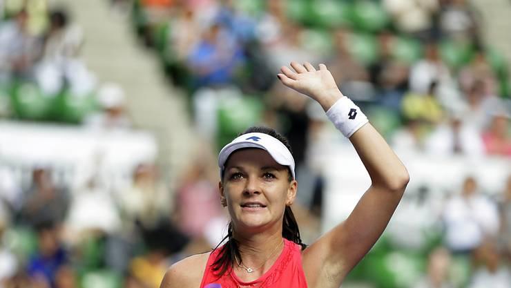 Verabschiedet sich mit 29 Jahren von der grossen Tennis-Bühne: Agnieszka Radwanska