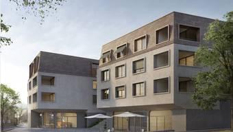 """""""Überbauung Zentrum Oberdorf"""" in Stetten"""