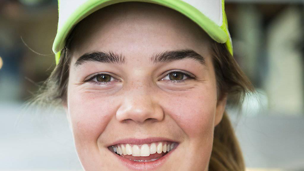 Mélanie Meillard gewann nach dem Slalom auch den Riesenslalom