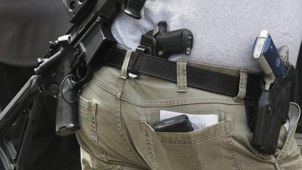 Tennessee erlaubt Tragen von Pistolen ohne Genehmigung