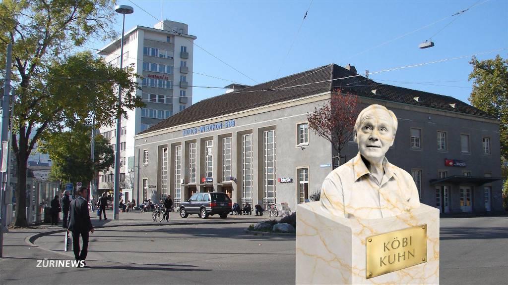 Köbi Kuhn soll ein Denkmal erhalten