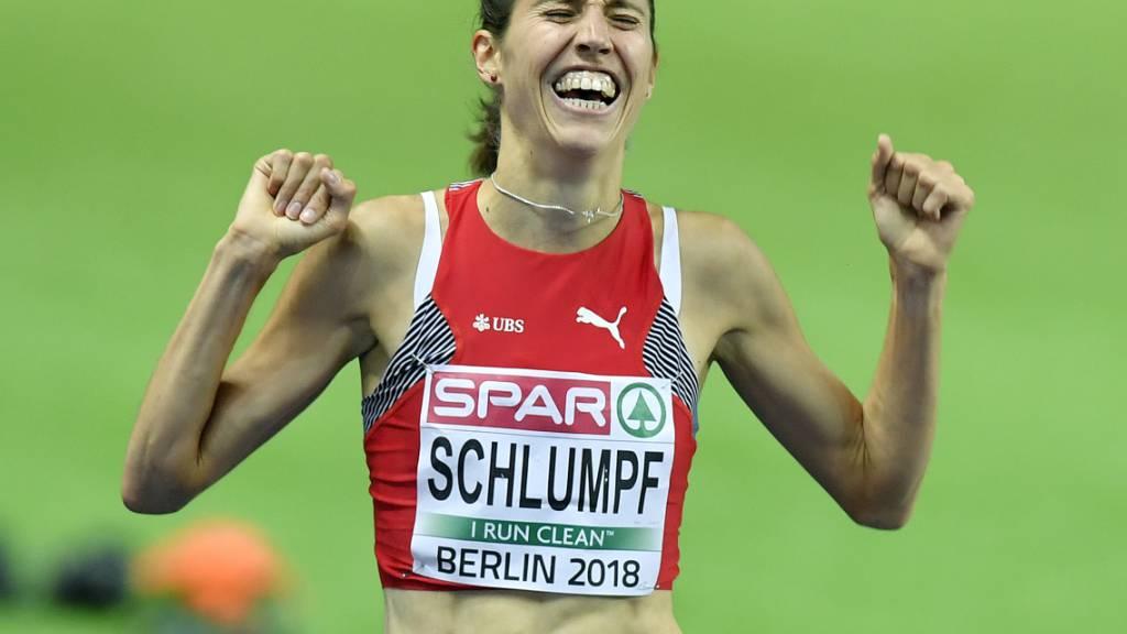 Topzeit von Fabienne Schlumpf über 5000 Meter