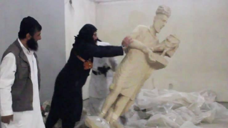 Mutas befand sich während des Angriffs in der Nähe von Mossul, wo der IS in der Vergangenheit Kulturgüter zerstörte. (Archiv)