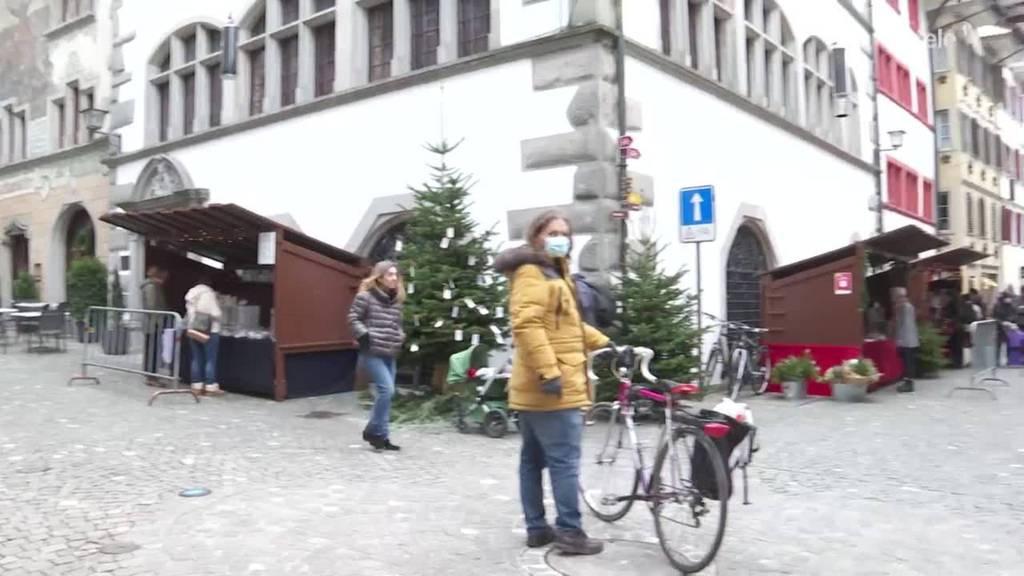 Findet statt: Adventsmarkt in der Zuger Altstadt