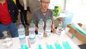 Wassertesten in Wölflinswil
