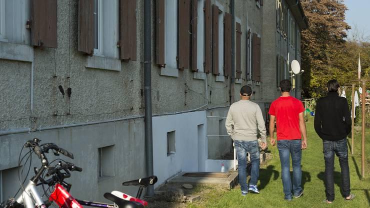 Die Asylunterkunft in Rekingen.