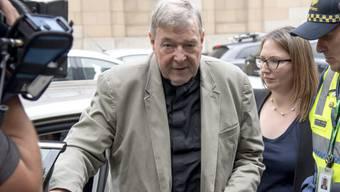 Alte Missbrauchsvorwürfe, neue Klage: der australische Kardinal George Pell - einstige Nummer drei im Vatikan. (Archivbild)