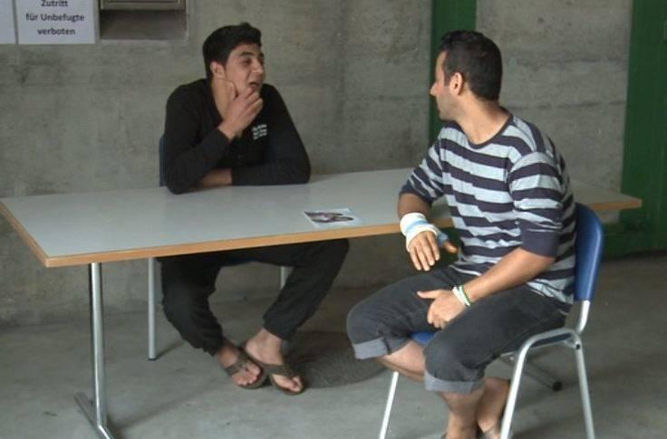 Asylbewerber wollen nicht in Unterkunft