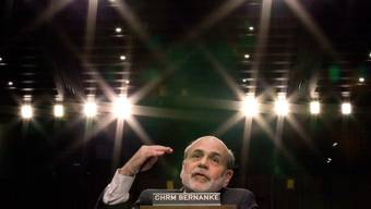 Er traf währende der Finanzkrise 2008 Massnahmen, die in keinem ökonomischen Lehrbuch zu finden waren: der damalige Chef der US-Zentralbank, Ben Bernanke.