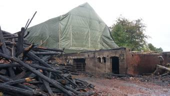 Nach Brand in Zofingen bleibt eine Ruine zurück