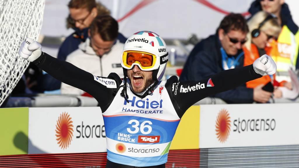 Killian Peier erstmals auf dem Weltcup-Podest