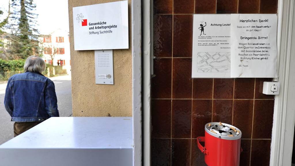 Wichtiger Treffpunkt für Randständige: Die Gassenküche in St.Gallen. (Archiv)