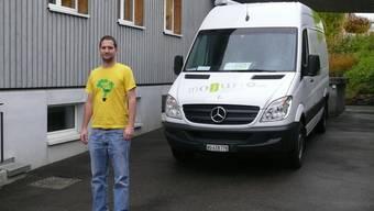 Kämpft gegen Jugendarbeitslosigkeit: Padi Neuenschwander, Jugendarbeiter am Rohrdorferberg. atp