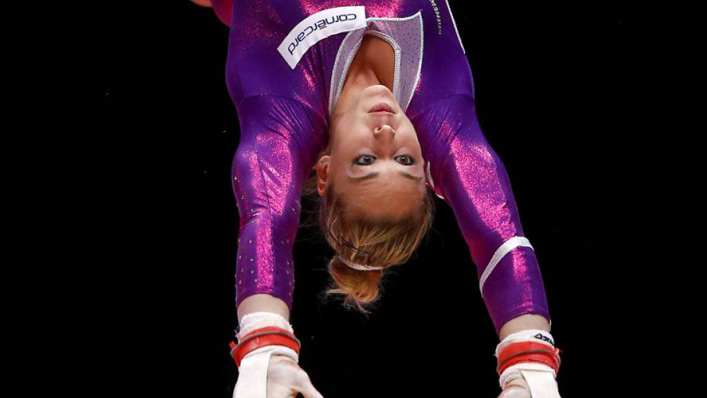 Giulia Steingruber und ihre Teamkolleginnen zeigten am olympischen Testevent in Rio de Janeiro einen fehlerfreien Wettkampf
