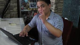 Der frühere Wirtschaftsprofessor Ilham Tohti setzt sich für eine Verbesserung der Situation der muslimischen Minderheit der Uiguren in China ein. Er wurde zu lebenslanger Haft verurteilt. Nun hat er den Sacharow-Preis erhalten. (Archivbild)