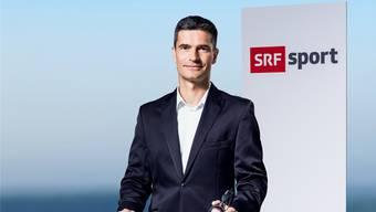 Stefan Hofmänner ist Sportmoderator beim Schweizer Fernsehen