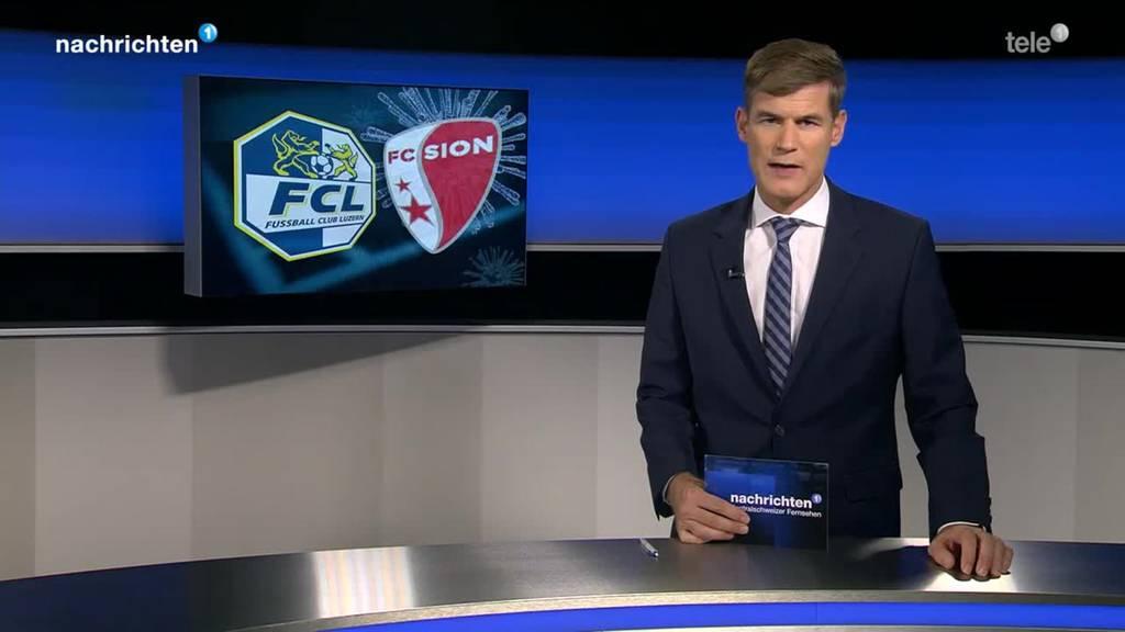 Absage FC Luzern gegen FC Sion