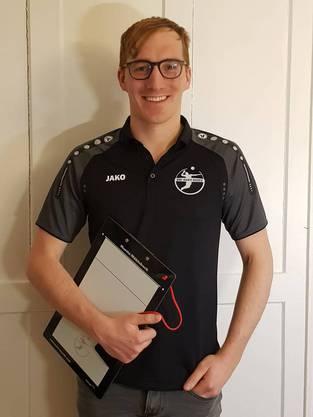 Letztes Jahr Assistenztrainer in Baden, jetzt Chefcoach: Martin Mühlebach, 33.