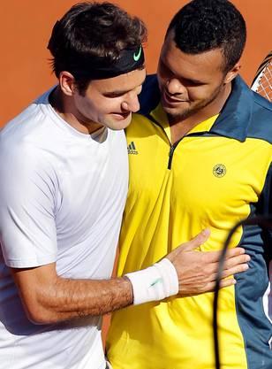 Roger Federer verliert gegen Jo-Wilfried Tsonga.