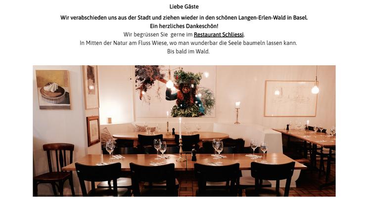 Vor rund einem Jahr öffnete das Restaurant zum Wilden Mann – nun macht er schon wieder dicht.
