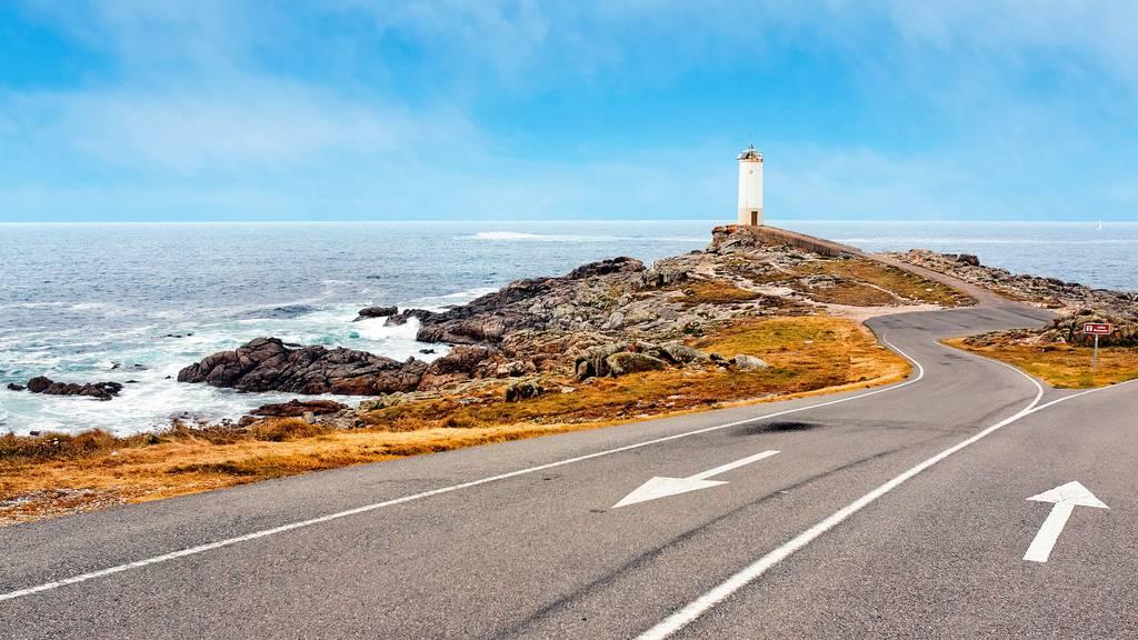 Diese schöne Route führt der galicischen Küste entlang.