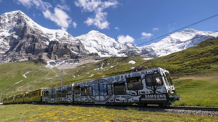 Ein wichtiger Player für den Bau der V-Bahn bei Grindelwald gibt grünes Licht. Das Projekt der Jungfraubahn nimmt damit eine weitere Hürde. (Archivbild)