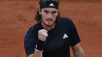 Angriffig und erfolgreich: Stefanos Tsitsipas stürmte beim French Open in den Halbfinal