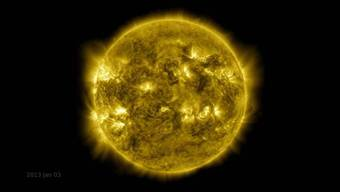 Zehn Jahre Sonnenaktivität im Ultra-Schnelldurchlauf.