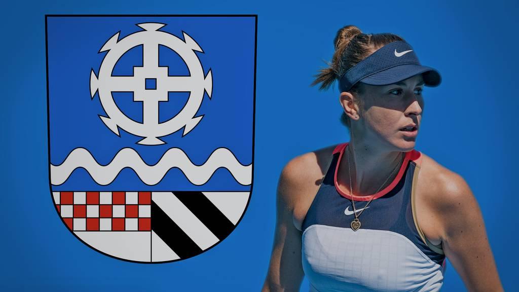 Oberuzwil drückt Belinda Bencic die Daumen