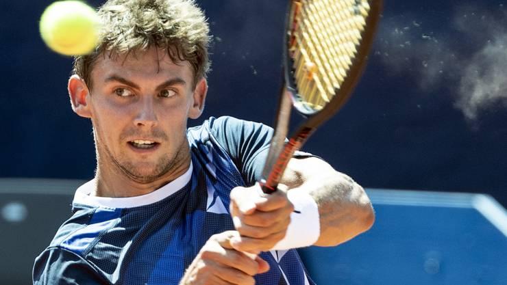 Henri Laaksonen verliert in Montpellier in der Startrunde (Archivbild)
