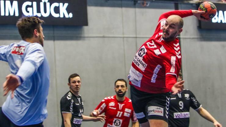 Simon Wittlin (r.) spielte beim Sieg des TV Endingen gegen Steffisburg stark auf.