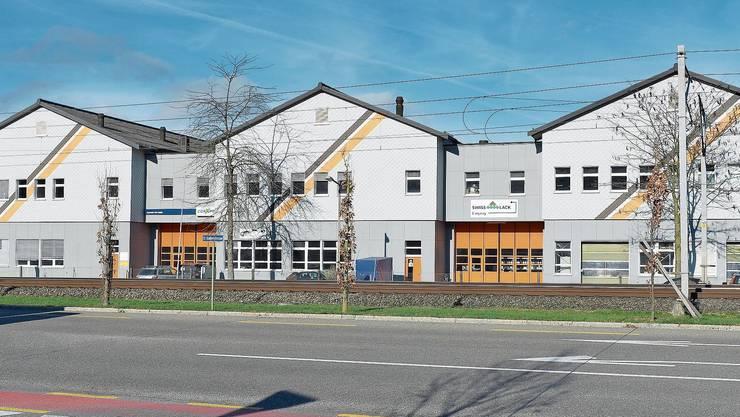 Im rechten Flügel der Gewerbehäuser in Winterthur Hegi ist inzwischen ein Mercerie-Händler eingezogen.
