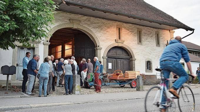 Das Bossarthaus an der Dorfstrasse gehört zum historischen Kern.