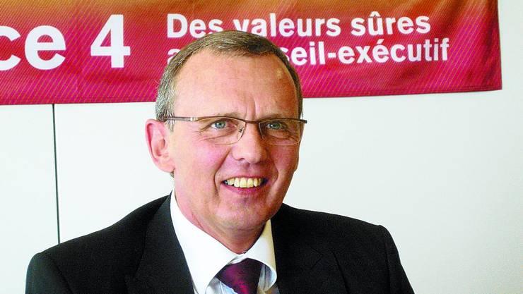 Philippe Perrenoud: Er will den Jura-Sitz verteidigen.