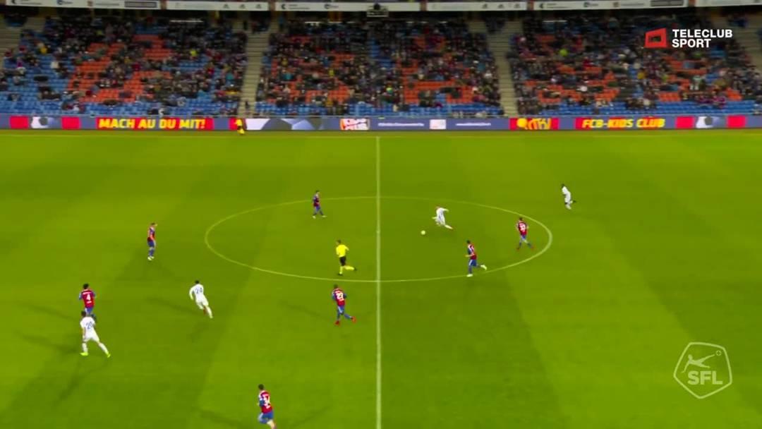 54. Minute: Tor für FC Luzern von Shkelqim Demhasaj (Assist: Marvin Schulz)