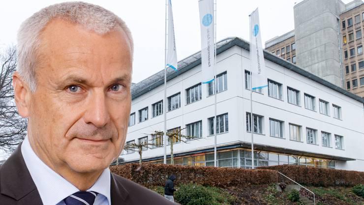 Peter Suter, neuer KSA-Verwaltungsratspräsident.