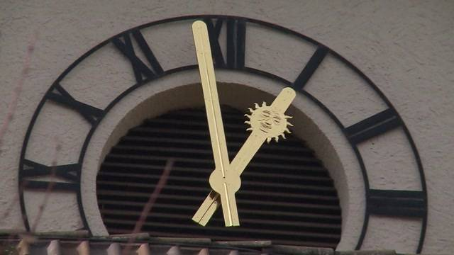 Kirchenuhr von Trimbach wieder vollständig