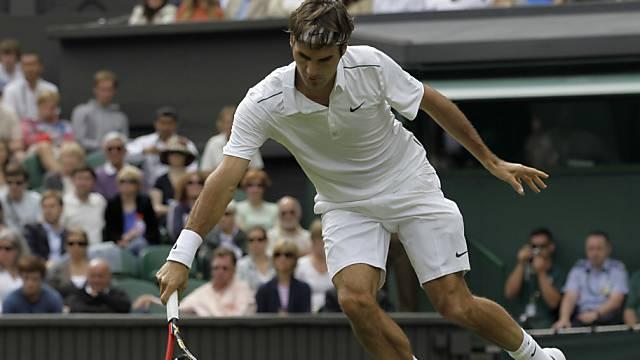 Federer gewann ohne Probleme